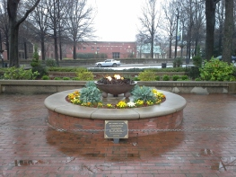 The eternal flame for Martin Luther King Jr.