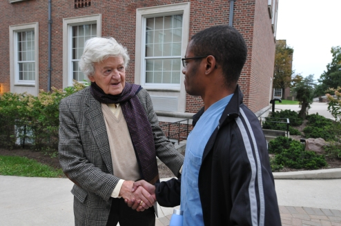 My meeting with the legendary Hal Holbrook in the fall 2012! Such an Honor to have met one of my idols.
